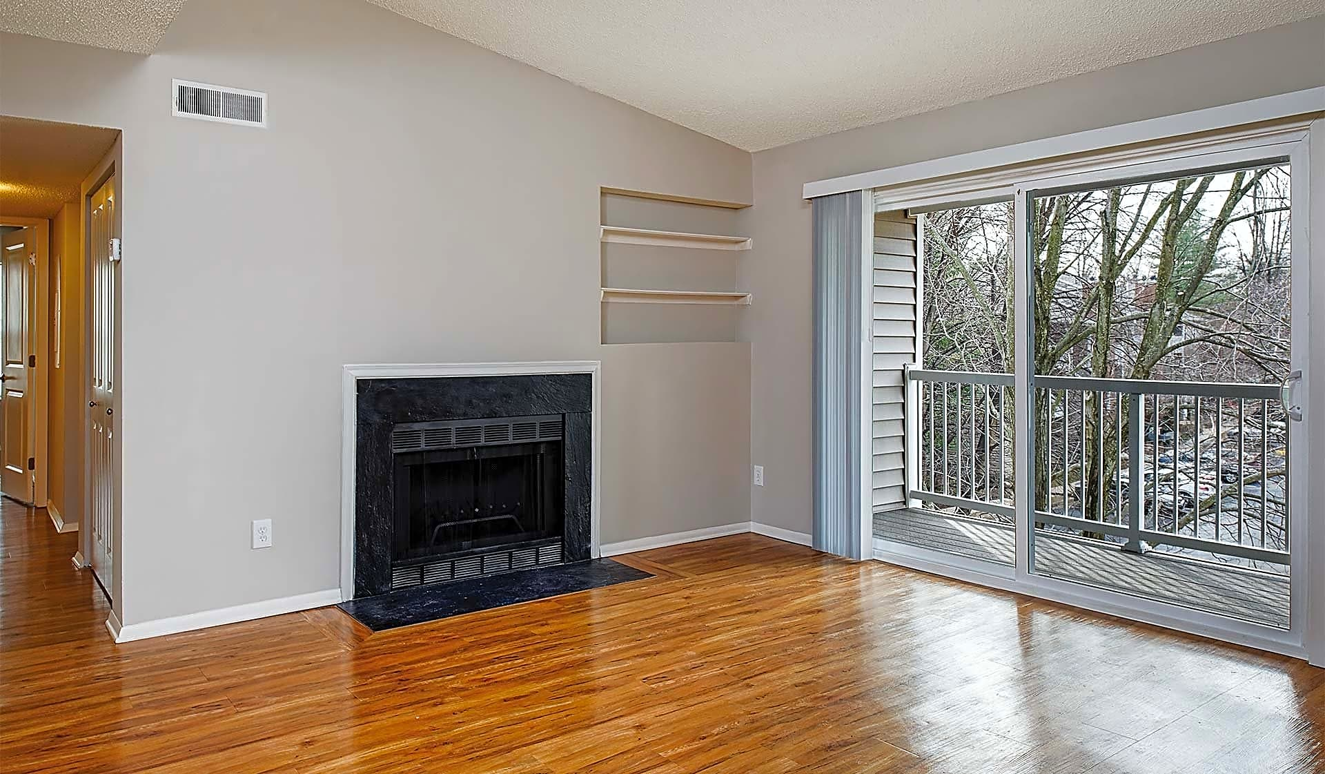 Select homes have  a fireplace