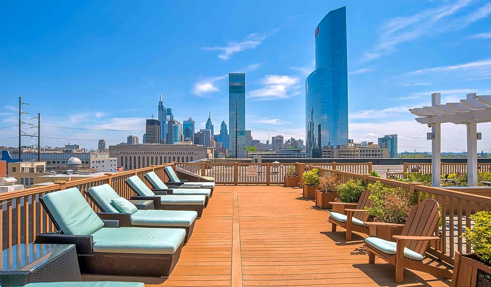 Amazing views from the rooftop social deck