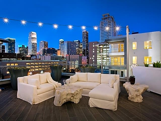 Enjoy the view from our rooftop deck