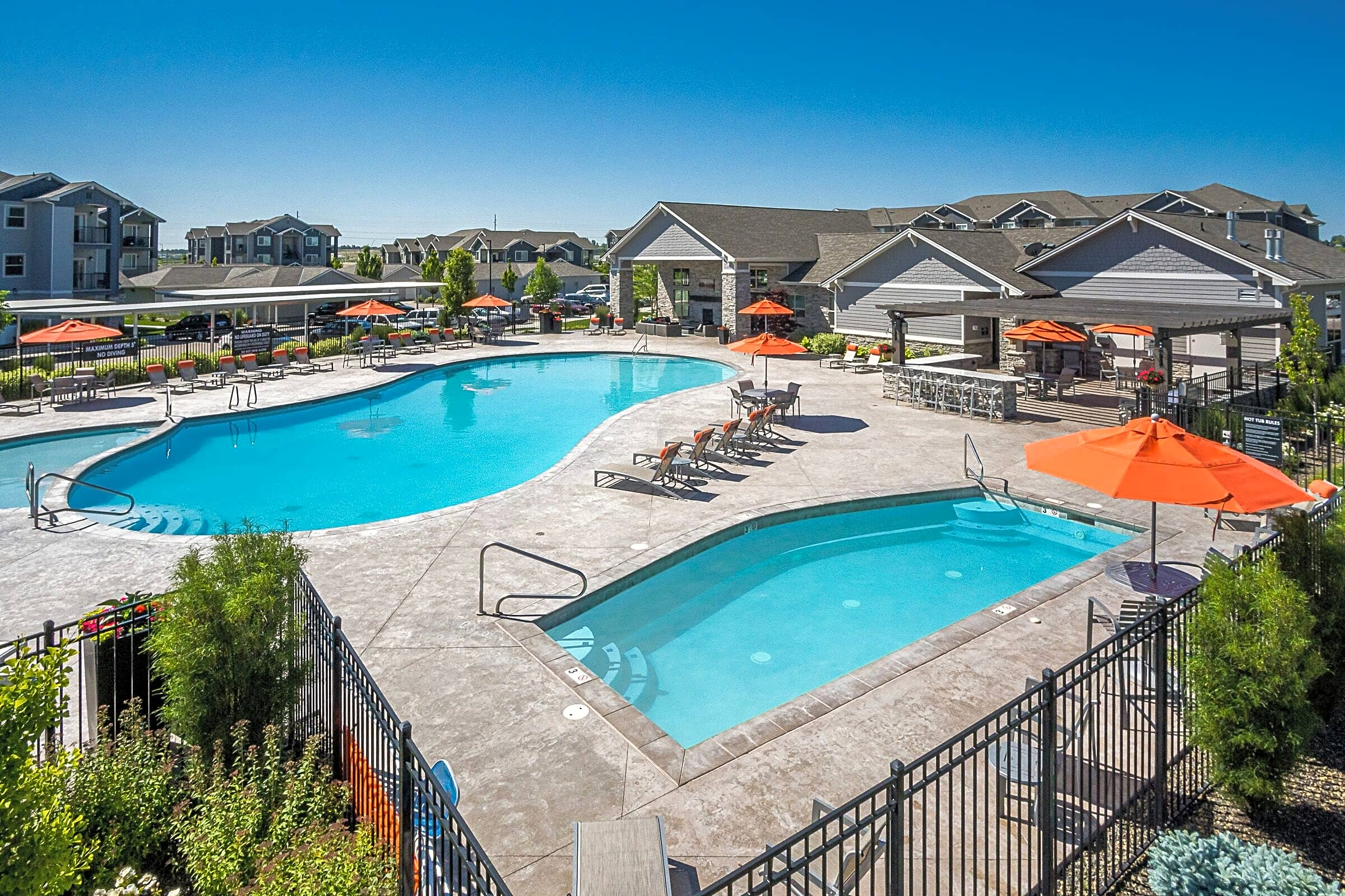 Apartments Near NNU The Franklin at Ten Mile for Northwest Nazarene University Students in Nampa, ID