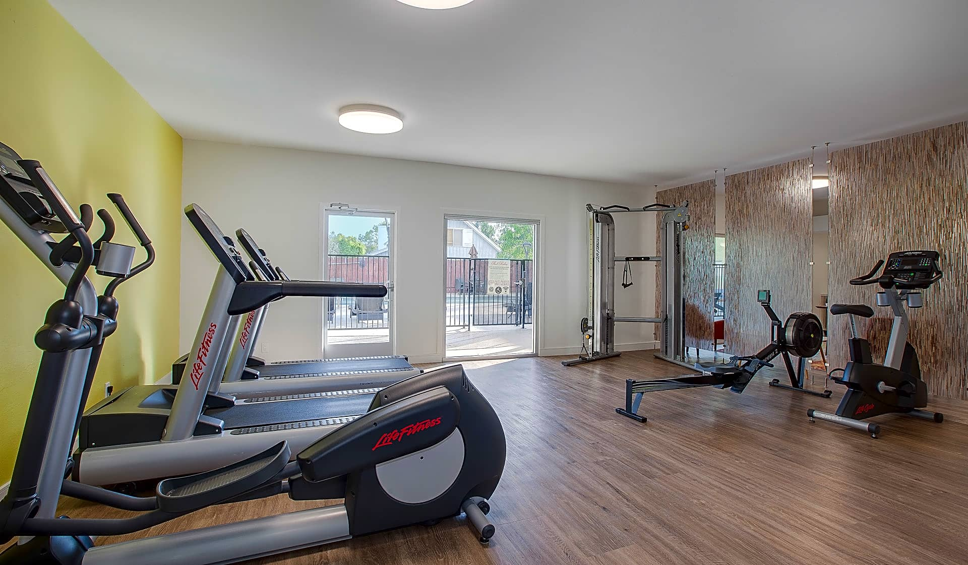 Work out in our community fitness center