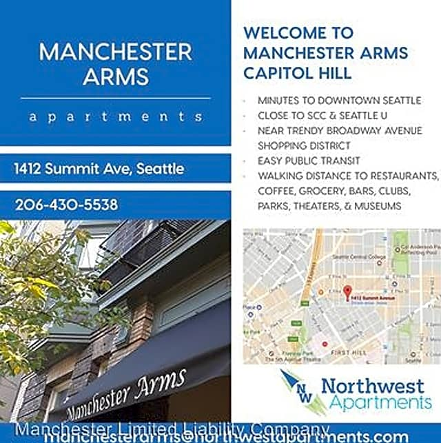 1412 summit avenue apartments seattle wa 98122 for Art institute of seattle parking garage