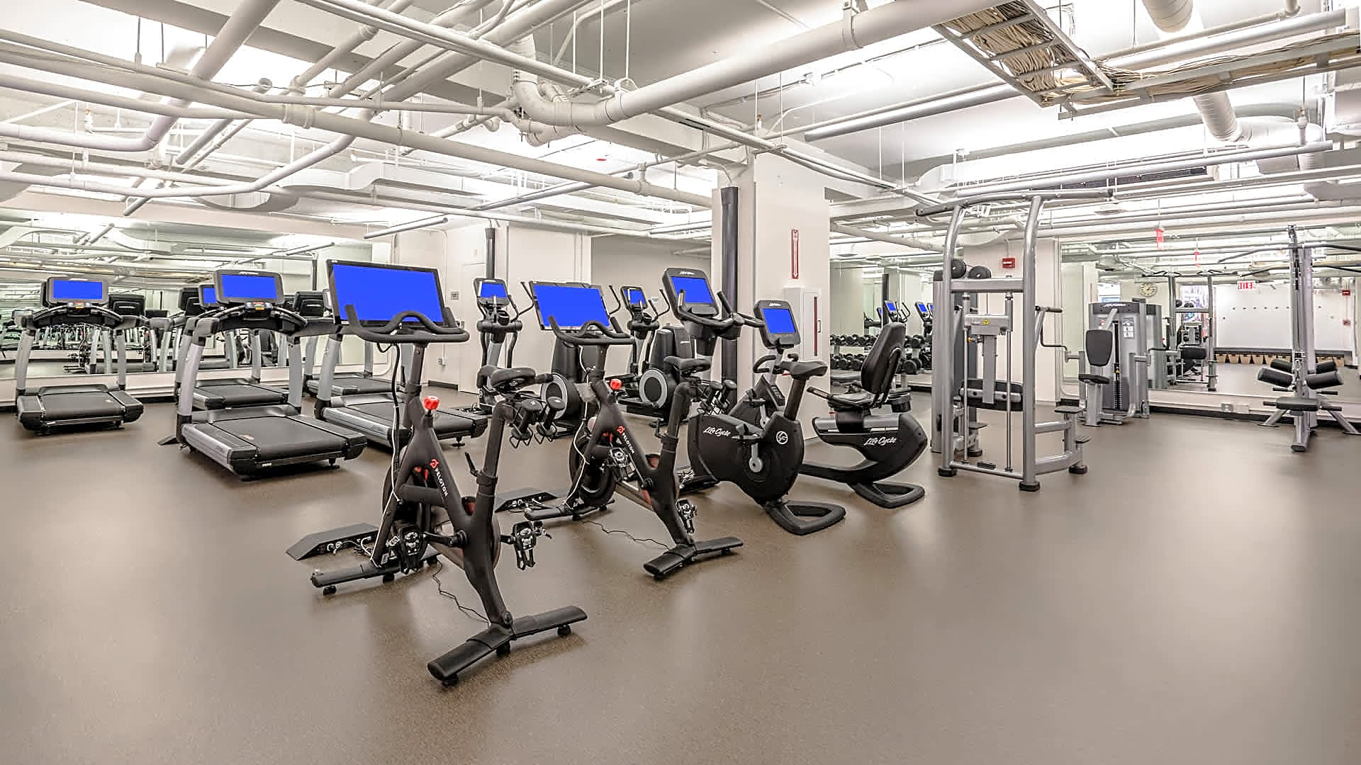 Fitness Center with On-Demand Virtual Classes