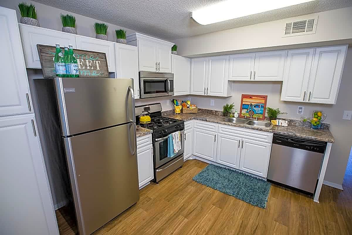 Big, bright, and newly remodeled, eat-in kitchens... perfect for entertaining.