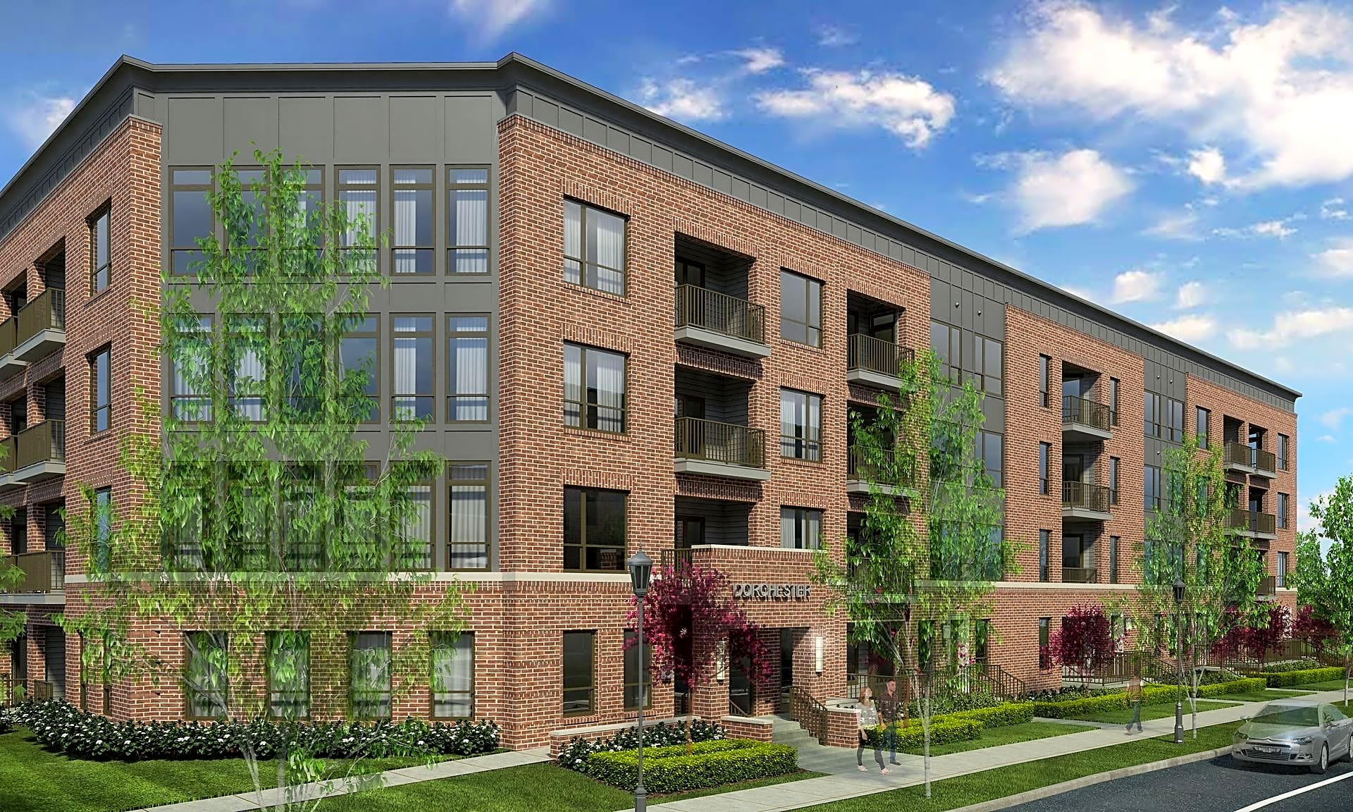 Apartments at the Yard: Dorchester West