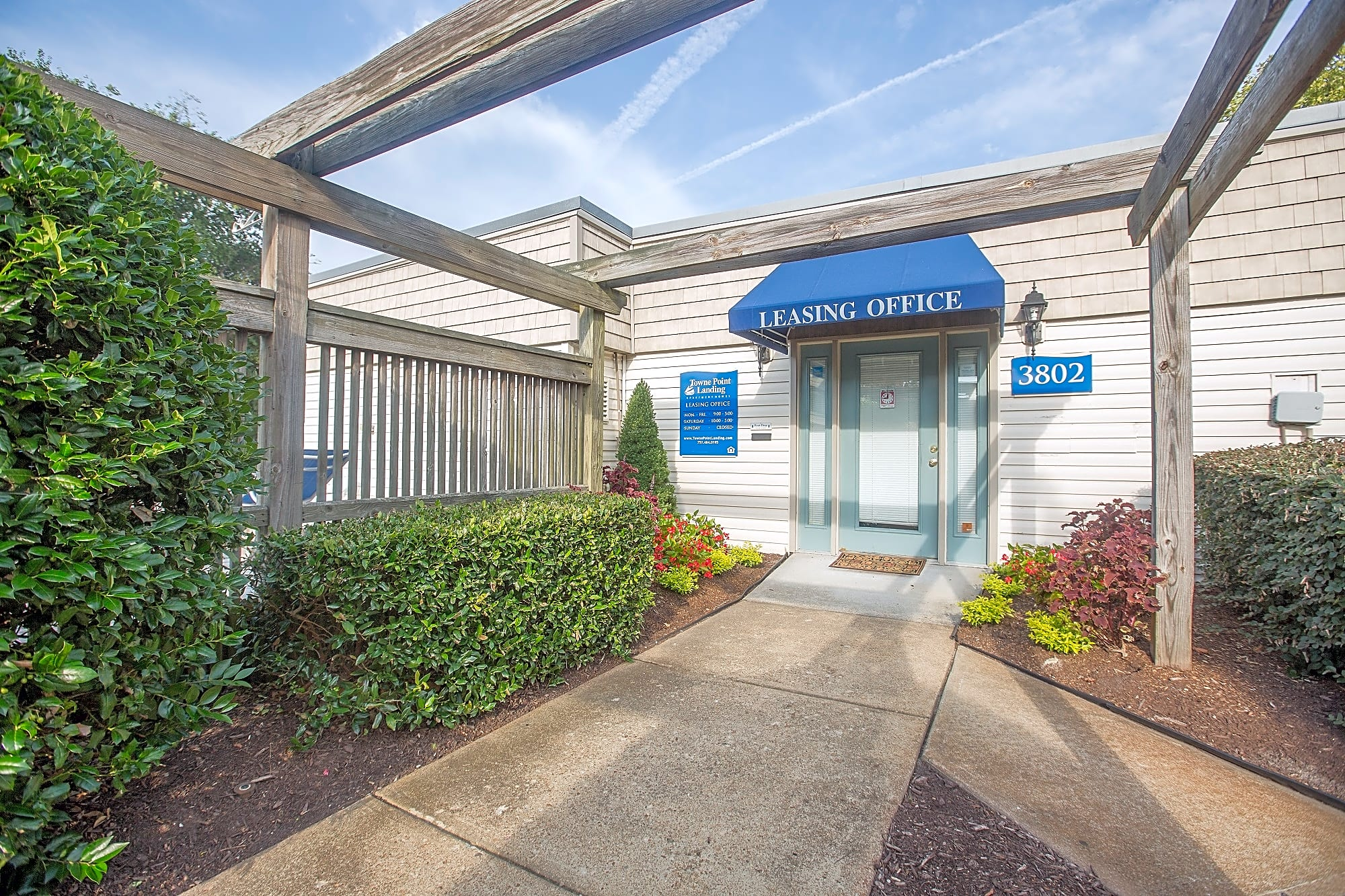 Visit the friendly staff at Towne Point Landing apartments