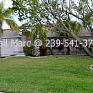 Large Pool Home on Gulf Access Canal! - Cape Coral, FL 33904