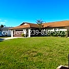 3 Bed 2 Bath 2 car Garage Full Back Of Home Lanai - Cape Coral, FL 33904