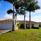 3/2 NE Pool Home with Fenced Yard - Cape Coral, FL 33909