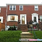 3 Bed/1.5 Bath Rowhome in Baltimore County - Halethorpe, MD 21227