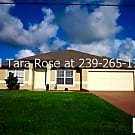 Fabulous 3 Bedroom 2 Bathroom home with a fenced i - Cape Coral, FL 33909