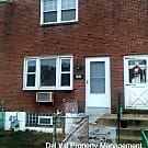 2 Bedroom Colonial Row For Rent - 608 Colwyn Avenu - Darby, PA 19023