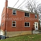 Nice Private 2 bedroom unit on Dead End Street! - Cincinnati, OH 45220