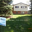 Spacious 4 Bedroom 2 Bath located in Village 7 - Colorado Springs, CO 80917