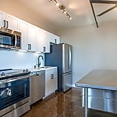 Upgraded kitchen finishes in our brand new penthouses
