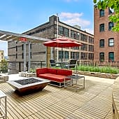 Lofts At Farmers Market Rooftop Deck Firepit