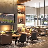Catch the game in the Resident Clubroom