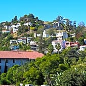 Located in the cozy Hollywood Hills