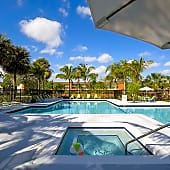 Relax in our pool and hot tub!