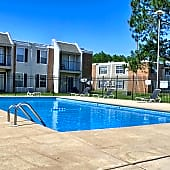 Sparkling Pool at the Regency Woods Apartments in Pascagoula, MS