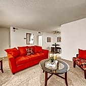 Large Living Room with Patio or Balcony in Select Units