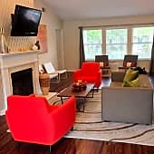Hawk Ridge Apartments in Winston Salem, NC Clubhouse Lounge