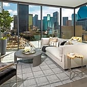 Floor to ceiling Windows in Living Rooms