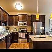 Siena Kitchen with Stainless Steel Appliances