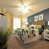 Spacious Rooms with Walk-in Closets