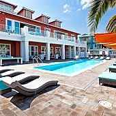 Amazing Exterior Amenities including saltwater pool and outdoor kitchen with pizza oven