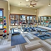 Come break a sweat in our 24 hour Fitness Center