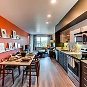 Kitchen/Living/Dining - Modern Style (One Bedroom)
