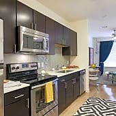Kitchen and Living Spaces