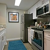 Newly renovated kitchens with stainless steel appliances