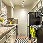 Upgraded Kitchen with Black Appliances