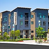 Terrena offers studio, one, and two bedroom apartments with options such as balconies