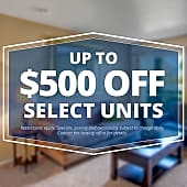 Specials savings coupon $500 off