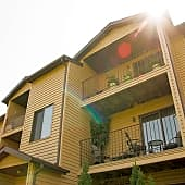 Each apartment home includes a large balcony or patio.