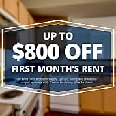 Specials savings coupon $800 off