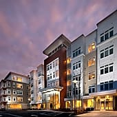 Exterior view of Vox on Two Apartments in Cambridge MA