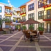 5th Street Commons Interior Courtyard