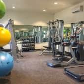 24-Hour Luxury Fitness Center
