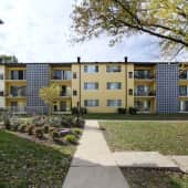 Exterior View at the Chelsea Park Apartments in Gaithersburg, MD