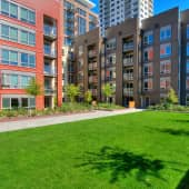Step out and enjoy the sun on the grassy, open, amenity courtyard