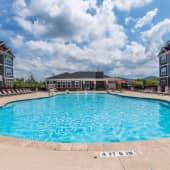 Custom Saltwater Swimming Pool at Hawthorne at Weaverville