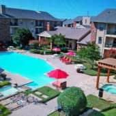 Aerial View Of Pools