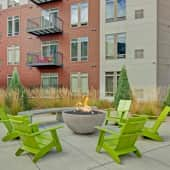 Covington Outdoor Deck with Firepit