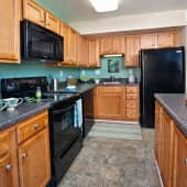 Maple Model Kitchen