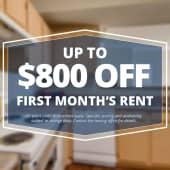 Specials savings coupon $800 off