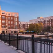 Cronins Landing Apartments overlooking the Charles River